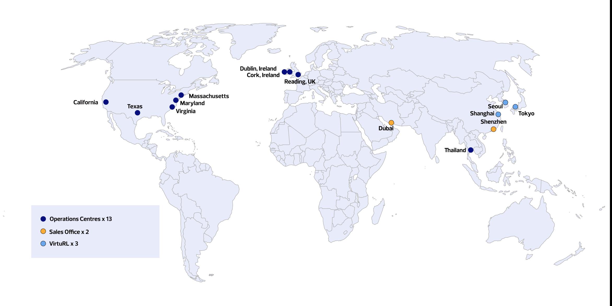 Locations - Wisetek Corporate